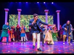 Priyanka Chopra Nick Jonas Sangeet Pics The Bride And Groom Family Plays Cricket