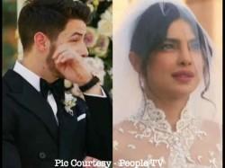 Priyanka Chopra Nick Jonas Christian Wedding Pics Inside Pics Nick Jonas Breaks Into Tears