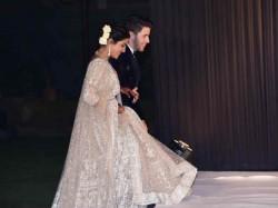 Priyanka Chopra Nick Jonas Wedding Reception Pics