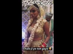 Qubool Hai Fame Additi Gupta Makes Beautiful Bride