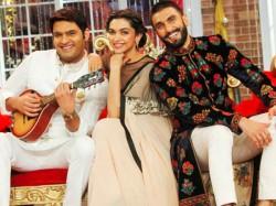 Deepika Padukone Ranveer Singh Entry Kapil Sharma Show