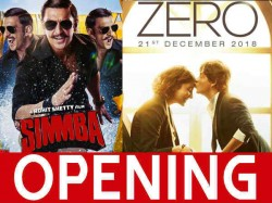 Simmba Box Office Day 1 Friday Opening Ranveer Singh Beats Shahrukh Khan S Zero Occupancy