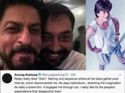 Anurag Kashyap Defends Zero Debacle But Accepts He Felt Disconnected At A Point