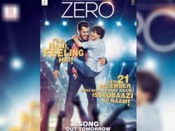 Zero New Poster Announces Salman Shahrukh Starrer Issaqbaazi Song Release Date