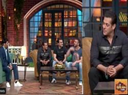 Salman Khan Beaten Because Sohail Khan The Kapil Sharma Show Video