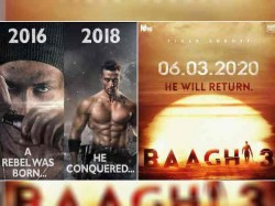 Tiger Shroff Announced Baaghi 3 Release Date With First Look Deets Here