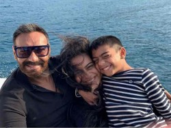Ajay Devgn Shared Cute Picture With His Daughter Nyasa And Son Yug