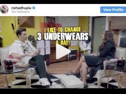 Karan Johar Reveals Why He Changes Underwear Thrice Day On No Filter Neha