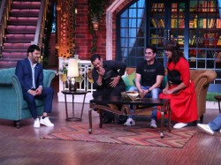 Kapil Sharma Touch Feet Salman Khan The Kapil Sharma Show