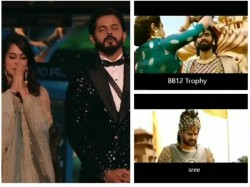 Dipika Sreesanth Compared Baahubali Bhallaladeva Bigg Boss 12 Winner Video