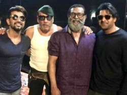 Jackie Shroff On The Sets Saaho With Prabhas See Pics