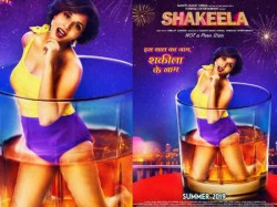 Shakeela Not Pornstar Poster Richa Chaddha Slays It In A Wine Glass