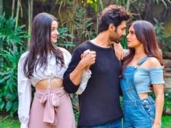 Ananya Panday Bhumi Pednekar Kartik Aaryan Pati Patni Aur Woh Remake