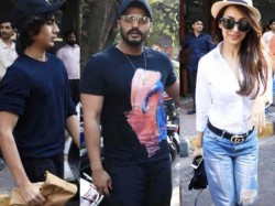 Arjun Kapoor Takes Malaika Arora And Her Son Arhaan Khan On A Lunch Date