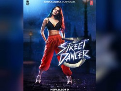 First Look Shraddh Kapoor S First Look From The Movie Street Dancer