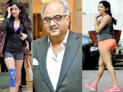 Jhanvi Kapoor Revealed Why Boney Kapoor Call Him Chicken Leg In Childhood