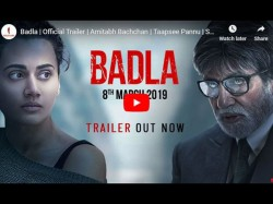 Fans Reactions On Amitabh Bachchan Taapsee Pannu Badla Trailer