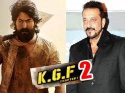 Kgf2 Sanjay Dutt Will Play As Villain With Kannada Super Star Yash