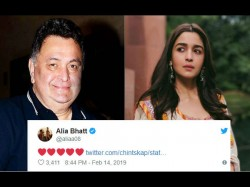 Rishi Kapoor Deleted Gully Boy Praising Post After Alia Bhatt Comment
