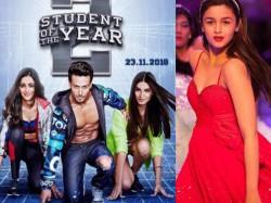 Alia Bhatt S Entry In Tiger Shroff S Student The Year