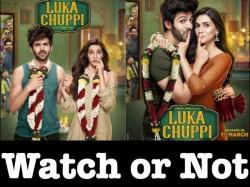 Luka Chuppi Preview Watch Or Not Kartik Aaryan Kriti Sanon Film