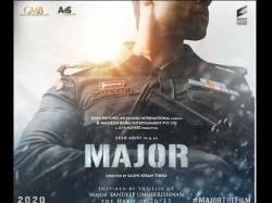 Major First Look Sandeep Unnikrishanan Biopic 26 11 Mumbai Attacks Fighter Soldier Mahesh Babu