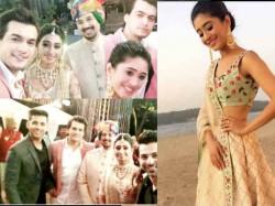 Kirti Mohena Singh Engagement Pics Kartik Naira Old Naksh With Yeh Rishta Kya Kehlata Hai Team