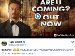 Tiger Shroff S Dance Video Are You Coming Tomorrow Goes Viral