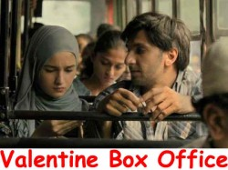Gully Boy Valentine Day Opening Report Bollywood Valentine S Day Box Office