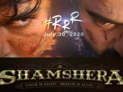 Rrr Vs Shamshera Alia Bhatt To Clash With Ranbir Kapoor Film