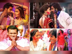 Amitabh Bachchan To Salman Khan Bollywood Stars Holi Pictures