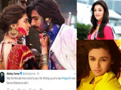Happy Holi Bollywood Celebrities Wishes To The Fans The Occasion Of Holi