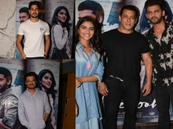 Notebook Special Screening Bollywood Stars Including Salman Khan Was Attend Event