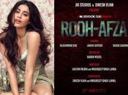 Jhanvi Kapoor Will Double Role In Rooh Afza With Rajkummar Rao