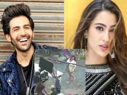 Love Aaj Kal 2 Videos Leak From Kartik Aaryan Sara Ali Khan Film Shooting Set