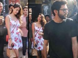 Disha Patani Latest Pictures Looks Hot A Mini Dress Disha Patani Lunch Date With Aditya Thackeray