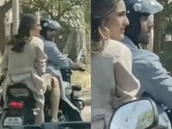 Kartik Aaryan Sara Ali Khan Shoot For Love Aaj Kal 2 New Pictures Go Viral