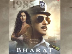 Bharat 4th Poster Salman Khan As A Naval Officer With Katrina Kaif
