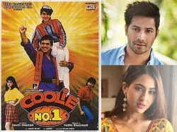 Varun Dhawan And Sara Ali Khan Unites For Coolie No 1 Remake
