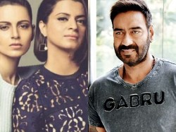 Kangana Ranaut Sister Rangoli Now Targets Ajay Devgn Call Him Intoxicated With Money