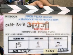 Irrfan Khan Begins Shooting For Hindi Medium Sequel Angrezi Medium