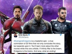 Avengers Endgame Review Celebs Cant Stop Tweeting After The Grand Premiere