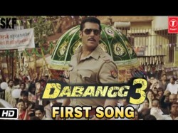 Dabangg 3 Title Song Salman Khan Will Dance With 500 Back Dancers In This Song