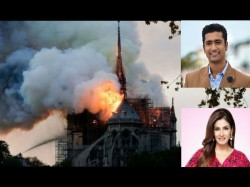 Bollywood On Notre Dame Cathedral Church Fire