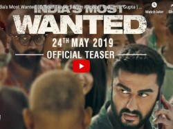 Teaser Arjun Kapoor S Indias Most Wanted Teaser Out Now