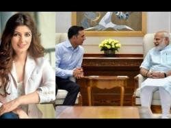 Twinkle Khanna Smart Reply To Pm Modi On Gussa Utarti Hai Remark