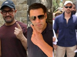 Salman Aamir Hrithik And These Stars Cast Their Vote