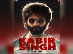 Kabir Singh Poster Shahid Kapoor S New Look Release