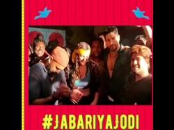 Jabariya Jodi Sidharth Malhotra And Parineeti Chopra Starrer Film Wrap Up