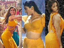 Disha Patani Katrina Kaif Raveena Tandon Bollywood Actress Sexy Dance In Yellow Sarees